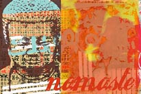 Buddhas-Namaste mural