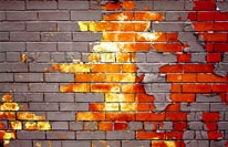 Bricks Through Time mural