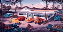 The Diner mural