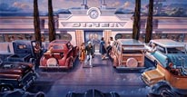 The Diner 2 mural