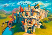 Dragon Kingdom mural