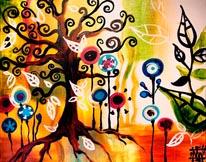 Tangled Tree mural