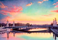 Pont Neuf Paris mural