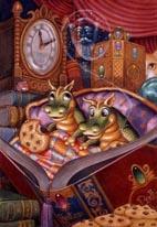 Bedtime Stories mural