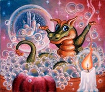 Bubble Fantasy mural