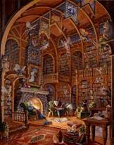 Fireside Fairytales mural