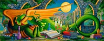 Eldar mural