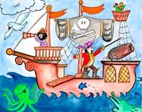 Pirates Ahoy mural