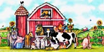 Fun On The Farm mural