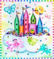 Fantasy Castle Larsen mural