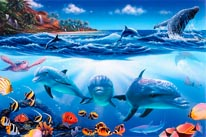 Island Paradise mural