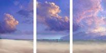 Tryptych Sky mural