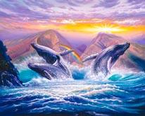 Whale Joy mural