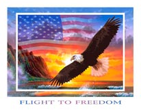 Flight To Freedom mural