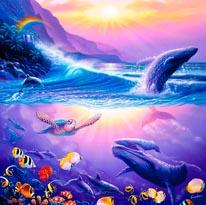Enchanted Sanctuary 2 mural