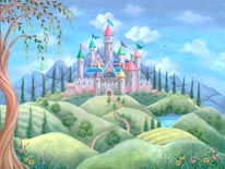 Castle Dreams mural
