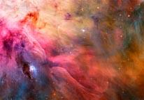 Orion Nebula mural