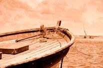 Fishing Boat mural