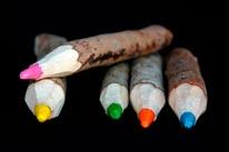 Crayons mural