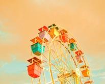 Ferris Wheel III mural