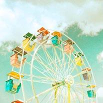 Ferris Wheel Longenecker mural