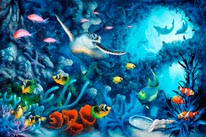 Jewels Of The Sea mural