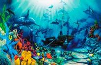 Ocean Treasures 2 mural