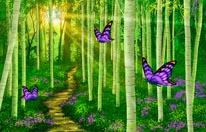 Fantasy Forest Miller mural
