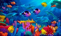 Ocean of Color mural