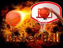 Basketball 2 mural