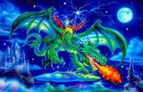 Green Dragon Kelly mural