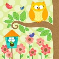 Owls N Birds mural