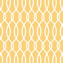 Trellis - Yellow mural