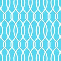 Trellis - Blue mural