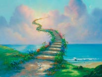 Stairway To Heaven Warren mural