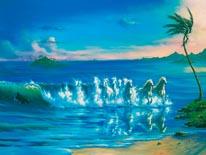 Galloping Waves mural