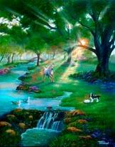 River Life mural