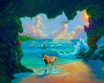 7 Horses mural