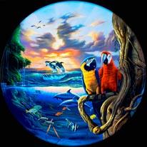 Paradise Warren mural