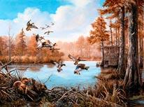 Beaver Dam Lake mural