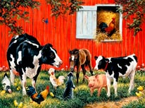 Old Macdonalds Farm 2 mural