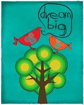 Dream Big mural