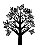 The Believe Tree mural