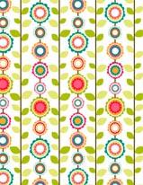 Flower Pattern - Vines mural