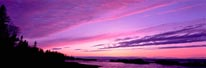 Lake Superior Sunset Keweenaw Peninsula Michigan mural