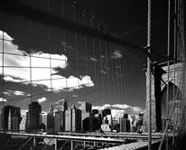 Brooklyn Bridge - Lower Manhattan mural