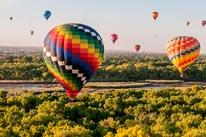 New Mexico Balloons mural