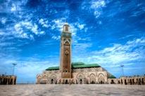 Hassan Mosque mural