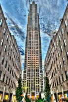 Rockefeller Center Silver mural