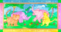 Jungle Panel II mural